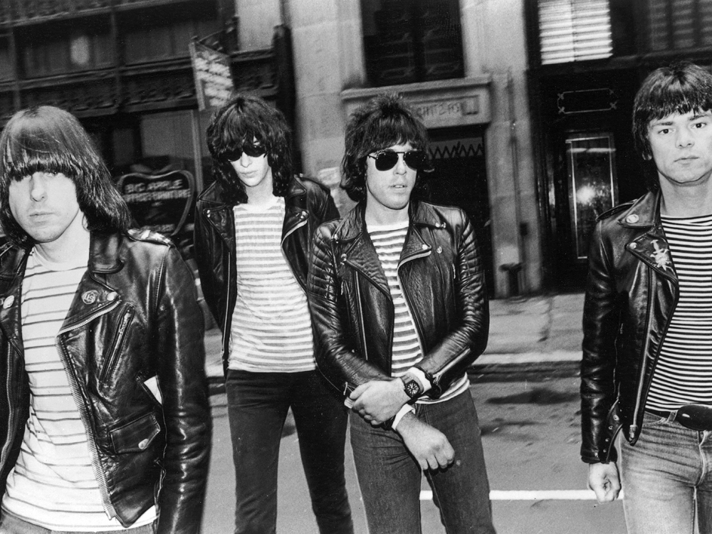SHEENA IS A PUNK: The Ramones' self-titled first album, released 38 years ago, has finally gone gold, with over 500,000 copies sold.