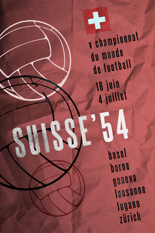 World CUp 1954: Suisse