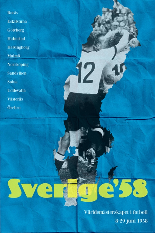 World Cup 1958: Sverige
