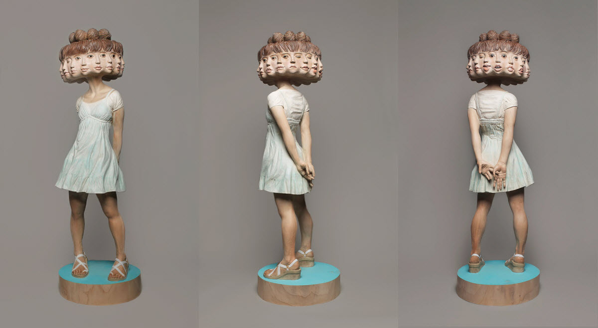 yoshitoshi-kanemaki-12-headed-girl-sculpture-compiled