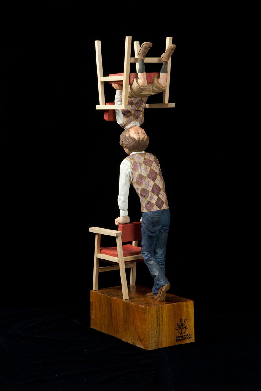 yoshitoshi-kanemaki-sculpture-man-boy-chair