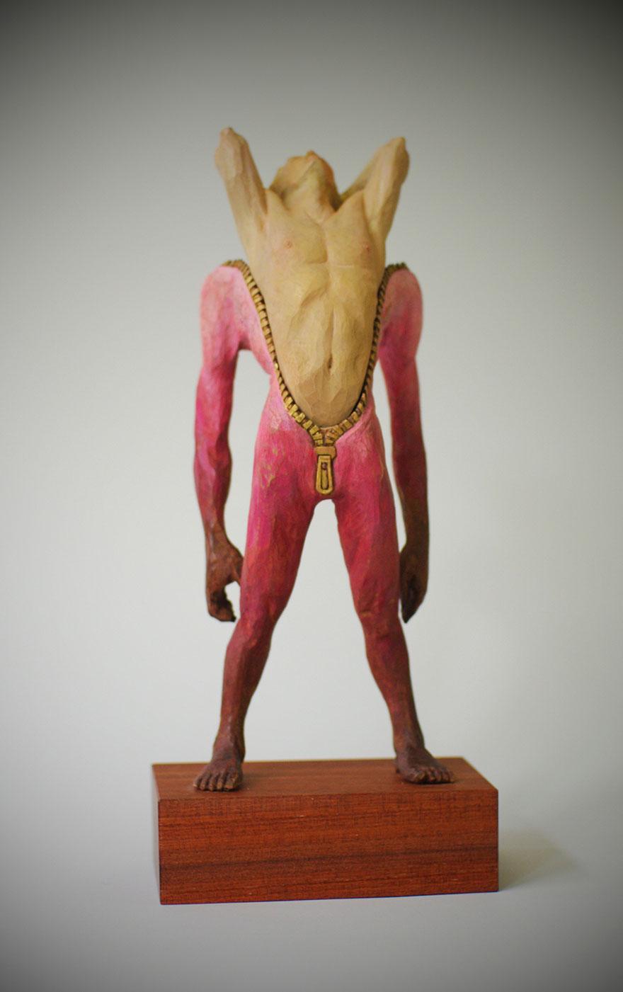 yoshitoshi-kanemaki-sculpture-unzipped