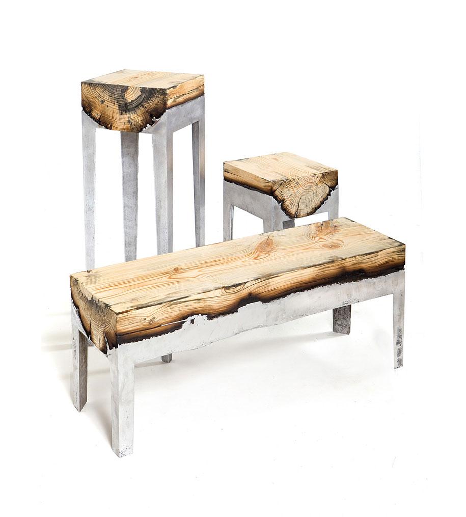 Hilla Shamia Wood Casting 4