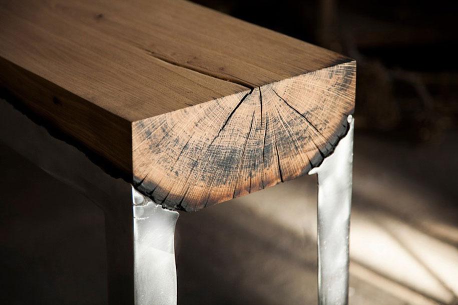 Hilla Shamia Wood Casting 5