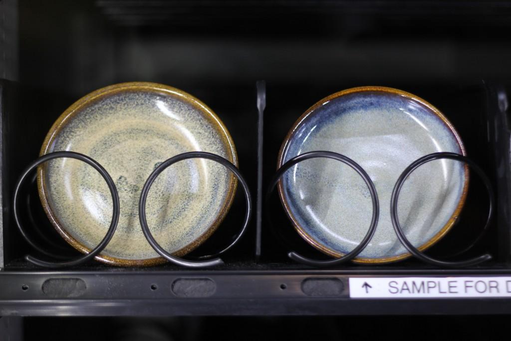 Sample ceramics Hans vending machine SOTA