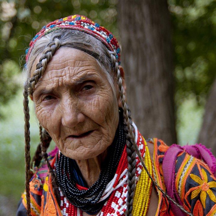Kalasha woman_Bromboret Valley_Chitral District_Pakistan