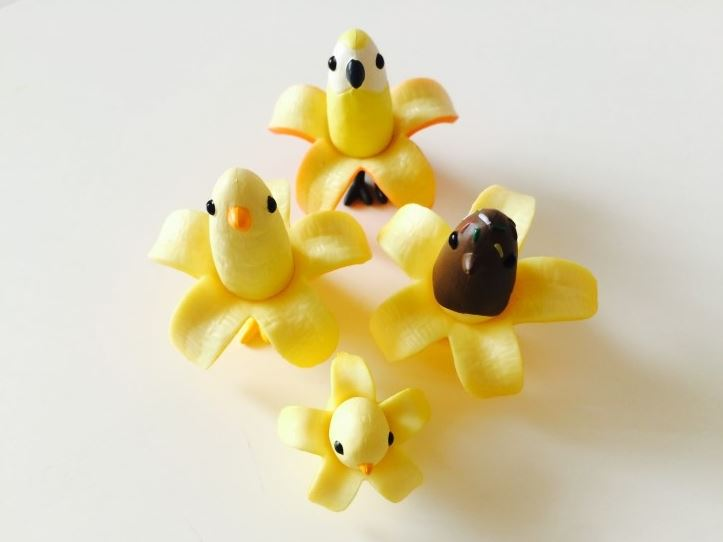 banana bird collection