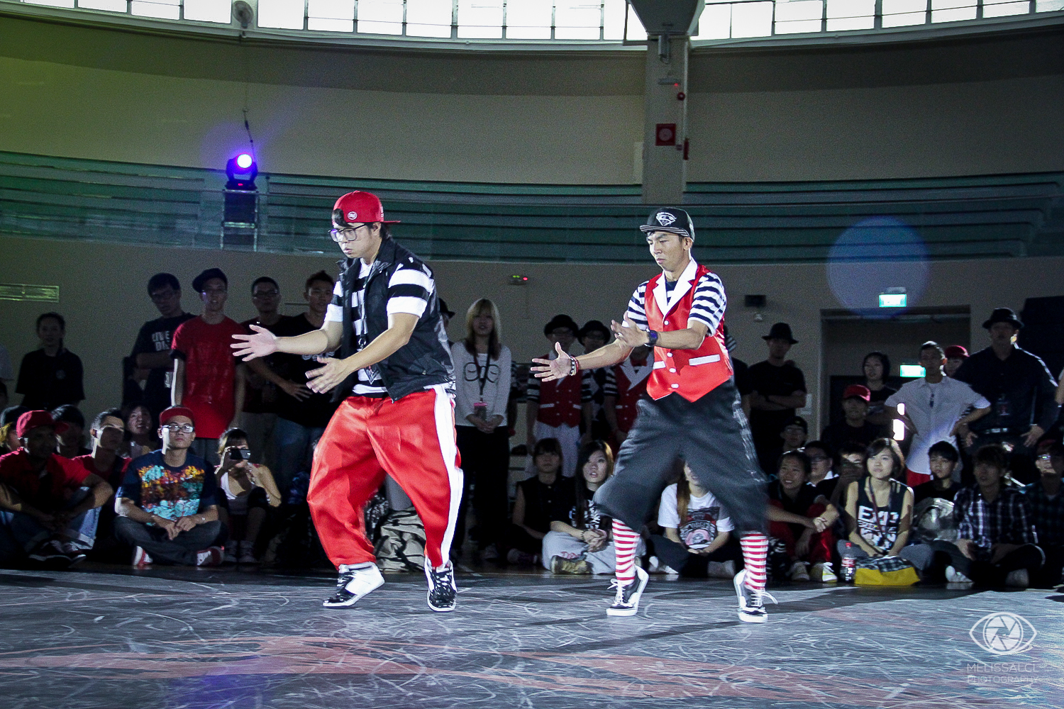 Chunky & Ceekay at the Juste Debout Singapore preselections 2011.