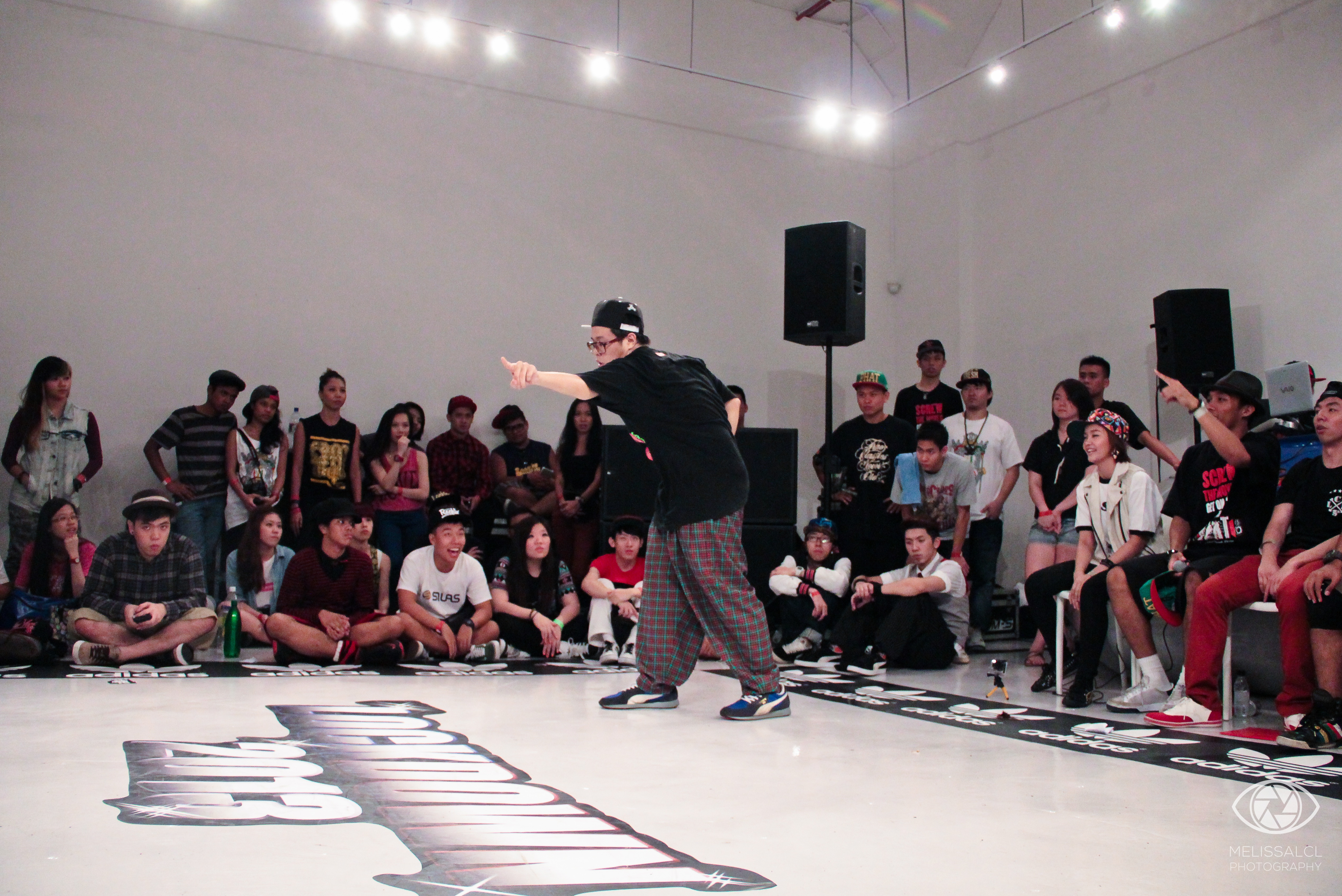Chunky performing during the judges' showcase at Lockdown 2013.