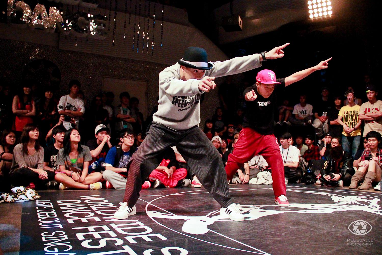 Funkstyle KS & Jin at Juste Debout 2012.