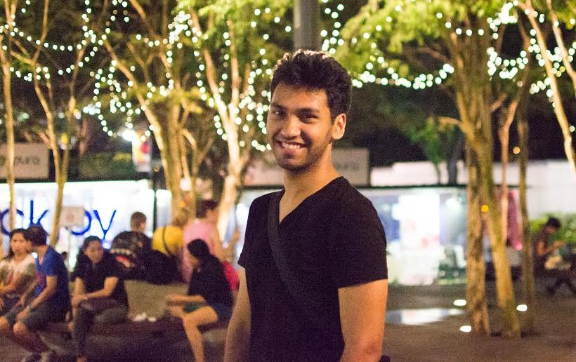 Shitij Nigam, the man behind Humans of Singapore.