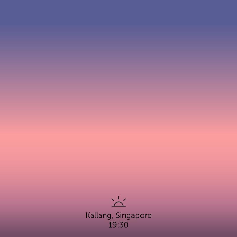 Kallang, Singapore. 7.30pm