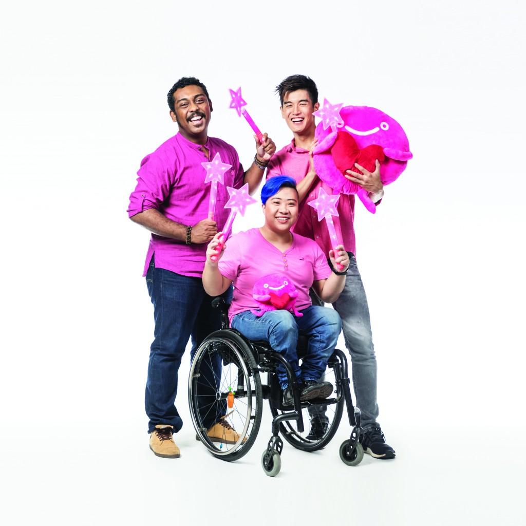 The 2017 Pink Dot Ambassadors. Photo Credit: Pink Dot SG