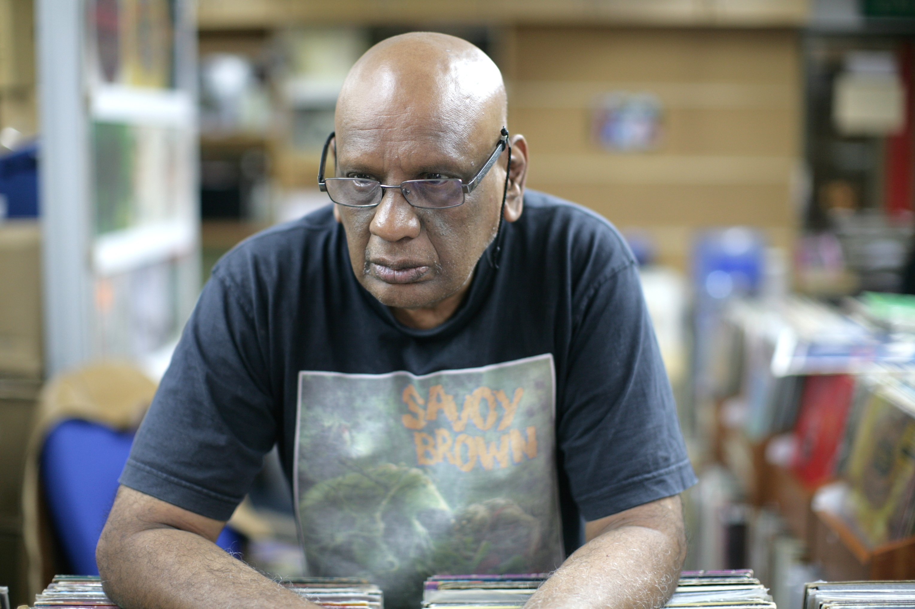 COLLECTOR: R. Alagirisamy has kept the music alive throughout his retirement.