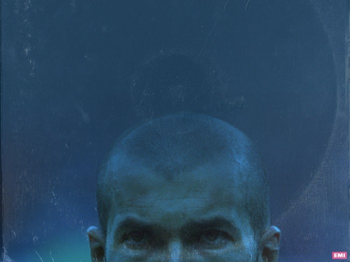 MATTRRAZZI'S NIGHTMARE: Zissous famous bald head was useful for both goal scoring and head-butting for France.