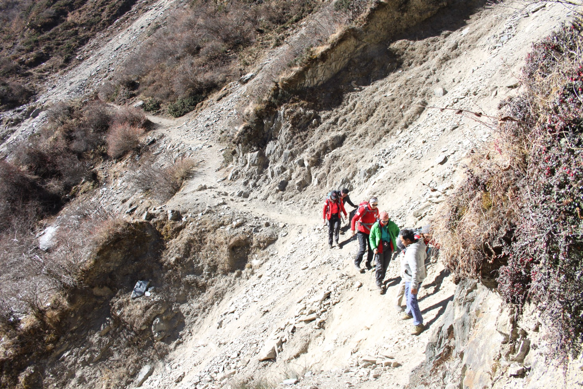 In October 2014, Women on a Mission (WOAM), an all-women team of nine, trudged across glaciers, rivers and landslides in a bid to raise funds for women victims of violence.